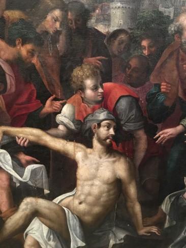 Resurrection of Lazarus Painting – Detail 2