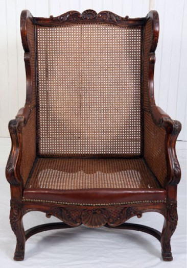 No 19 – Dutch Colonial Furniture, Armchair, 18th Century